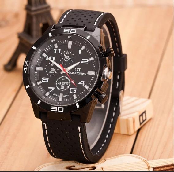 Relógio Masculino Esportivo De Quartzo Original 100% + Caixa