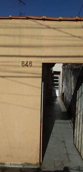 Salão Comercial Com Uma Casa Nos Fundos. - Ca1249