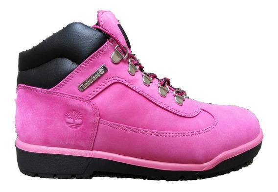 Botas Timberland Pink Junior Nubuck Rosa