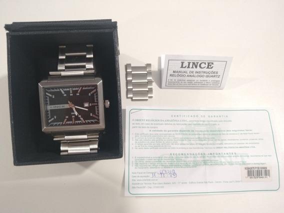 Relógio Lince, Original A Prova Da Água, Social Esporte
