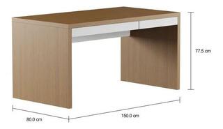 Mesa Escritório C/ 2gavetas. 150x80