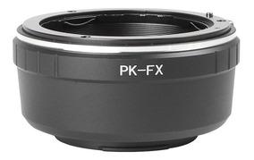 Adaptador Lente Pentax Pk P/ Fuji Fx X-pro2 X-t2 X-t20 +nf
