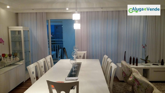 Apartamento Com 3 Suítes E Duas Vagas, 150 M² Á Venda No Condomínio Parque Clube Por R$ 950.000 , Aceita Permuta- Vila Augusta - Guarulhos/sp - Ap0119
