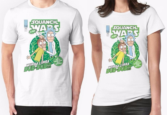 Rick And Morty Comic Playera Personalizada