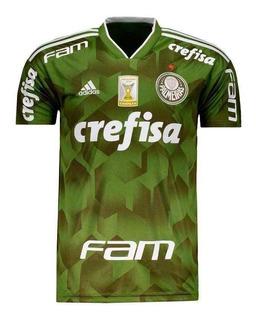 Camisa adidas Palmeiras Iii 2018 Campeao Brasileiro