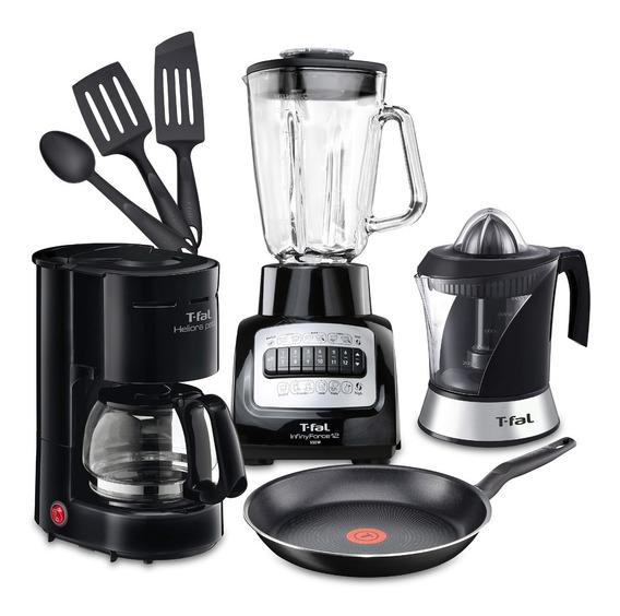 Set De Cocina T-fal Básicos Desayuno 7 Piezas - S8028
