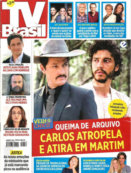Revista Tv Brasil 858 - Adriana Esteves - Dany Winits