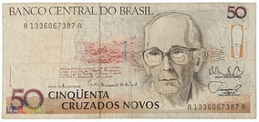 Cedula De 50 Cruzeiros