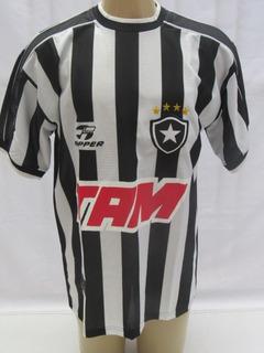 Camisa De Futebol Botafogo 2000 De Jogo # 17 - Topper - Tam