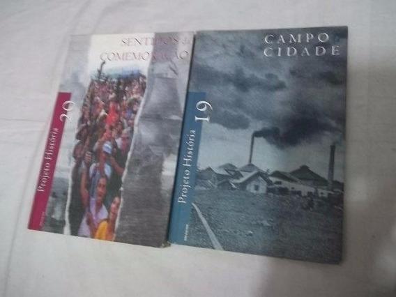 * Puc Sp Projeto História Lote Com 11 Livros (fotos Anuncio)