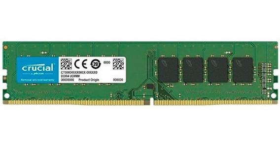 Memoria Ram 16gb 1x16gb Crucial Ct16g4dfd824a Pc