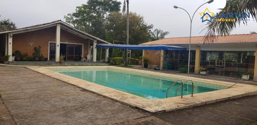 Chácara À Venda, 5000 M² Por R$ 550 Mil  - Peão - Piracaia Sp - Ch1351