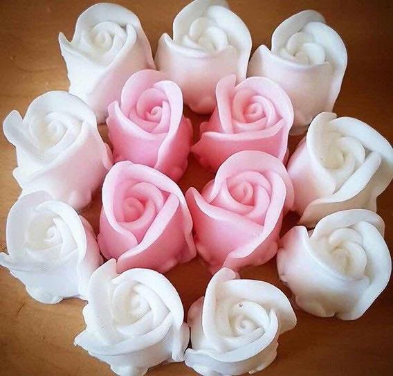 40 Rosa De Jabón Recuerdos De Boda O Xv Años