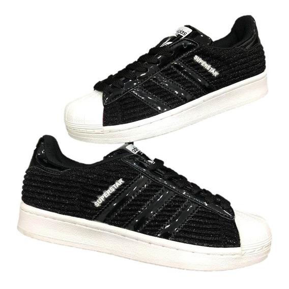 Tenis Adidas Escarchados Negros Tenis Adidas en Mercado