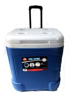 Caixa Térmica Cooler Com Rodinhas Capacidade De 90 Latas 57 L Igloo B6346