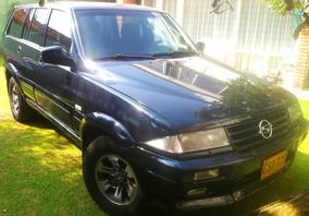 Camioneta Ssangyong Musso Diesel 4x4 Ewd / Ewd Negra