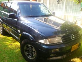 Camioneta Ssangyong Musso Diesel 4x4 Ewd, Negra