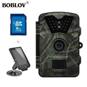 Câmera Trilha Noturna Boblov Fotográfica Hd 12mpz + Sd 32 Gb