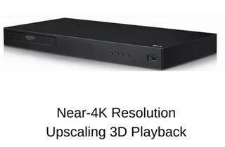 Reproductor Blue Ray Player Lg Ubkm9 Ultra Hd 3d 4k