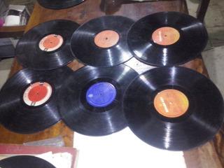 6 Discos Long Play Raphael Y Roberto Carlos Varios Titulos