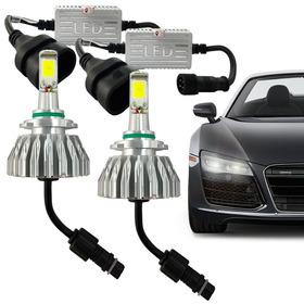 Kit Super Led Lampada Hb3 6000k 2200 Lumens Efeito Xenon