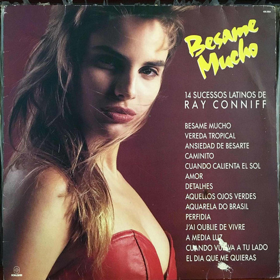 Lp Besame Mucho Ray Conniff