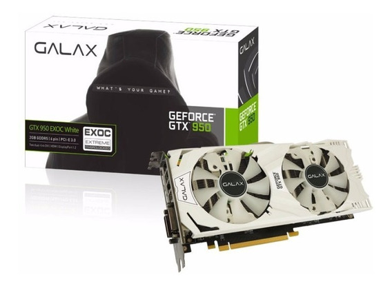 Geforce Galax Gtx 950 2gb Ddr5