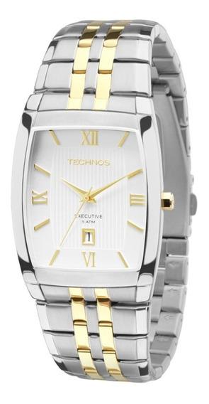 Relógio Technos Masculino 1n12mq/5b Misto Executivo Oferta