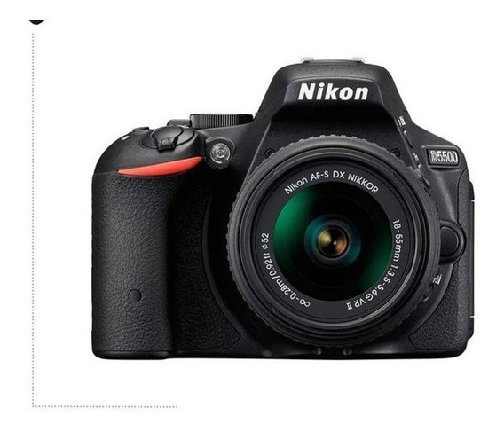 Câmera Nikon D5500+ Lente 18-55 + Mochila