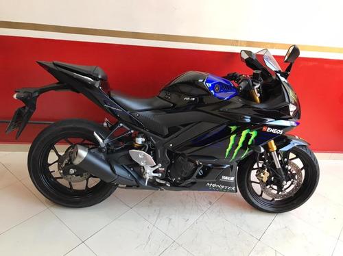 Imagem 1 de 7 de Yamaha Yzf R-3 Abs Monster 2021 Preta