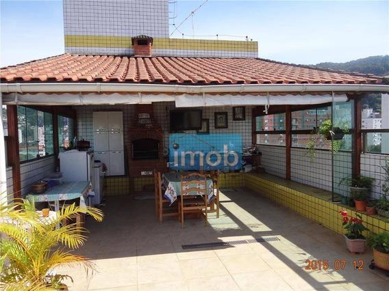 Cobertura Residencial À Venda, Vila Belmiro, Santos. - Co0118