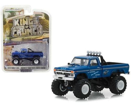 Greenlight Kings Of Crunch 1974 Ford F-250 Midwest 1:64