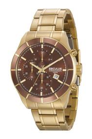 Relógio Masculino Seculus 23600gpsvda2 Promoção Dia Dos Pais