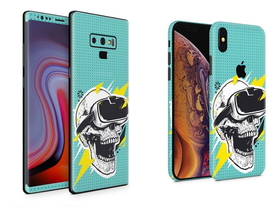 Skin Vr Skull Apple Samsung Huawei Lg Sony Xiaomi Etc