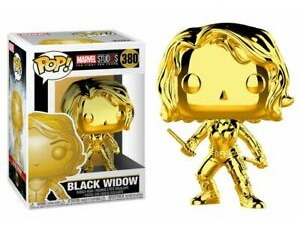 Figura Funko Pop Marvel Ms 10 - Black Widow 380