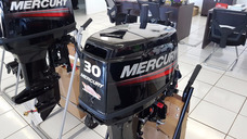 Motor De Popa Mercury 30 Hp 2 Tempos Novo 2017 C/ Capa