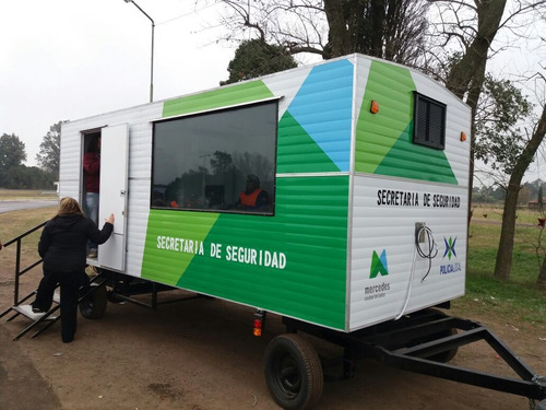 Obrador Casilla Rural Oficina Movil Fabrica Okm Completa