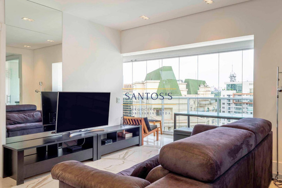 Apartamento Com 1 Dormitório À Venda, 74 M² Por R$ 1.150.000 - Brooklin - São Paulo/sp - Ap1751
