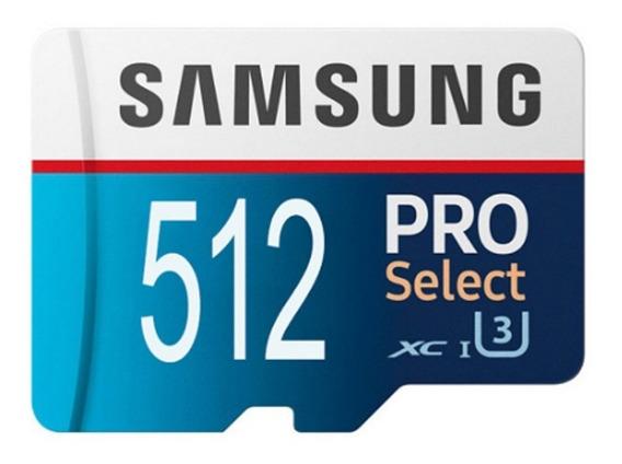 Cartão De Memória Samsung Pro 512 Gb ( 512 Gb) Original