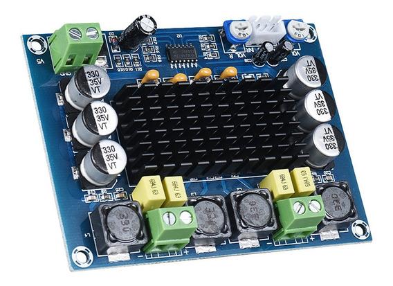 Módulo De Amplificador De Potência De Áudio De Canal Duplo 1