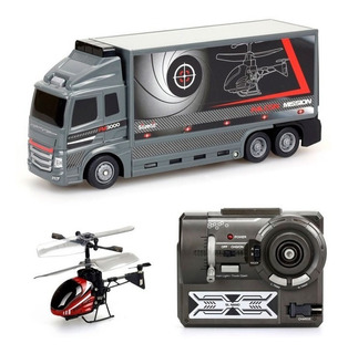 Falcon Mission Camion C/helicoptero R/c 84761
