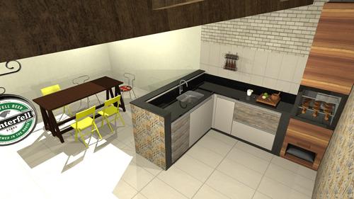 Imagem 1 de 6 de Projetos 3d - Residencial