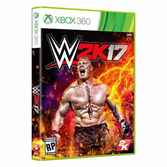 Jogo Novo Mídia Física W2k17 Original Para Xbox 360
