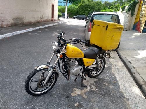 Suzuki Intruder 125 2013 - Pronta Para Trabalhar