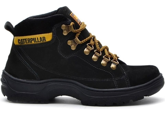 Botas Coturno Adventure Caterpillar Couro Cat Original