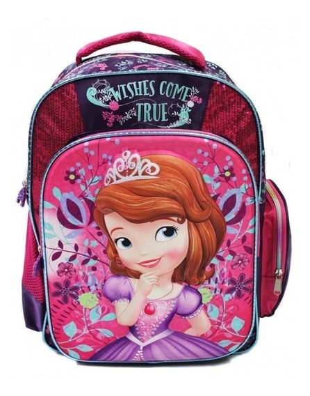 Mochila Escolar Princesa Sofia Ruz Disney 117731 Full