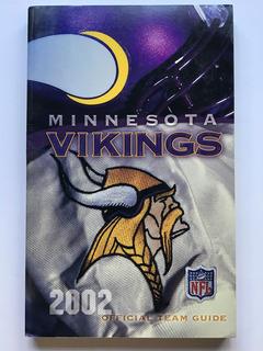 Nfl Minnesota Vikings Media Guide 2002