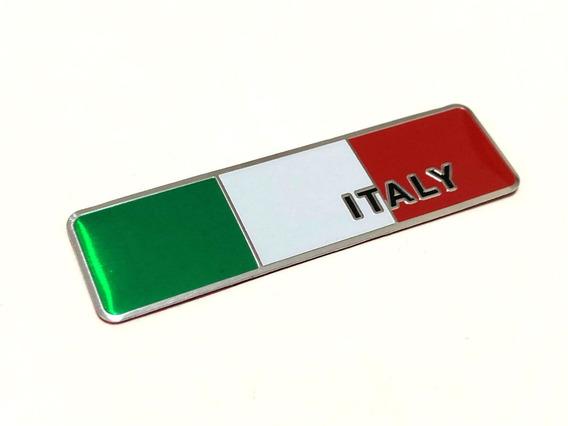 Emblema Itália Para Carros Italianos Autoadesivo