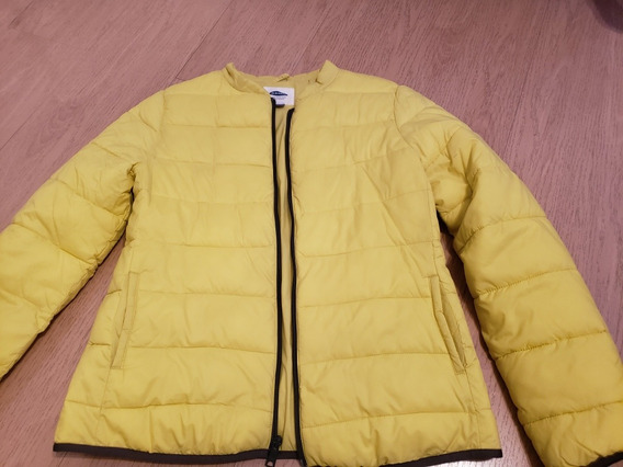 Palermo Campera Old Navy Mujer Talle S Color Amarillo Limon
