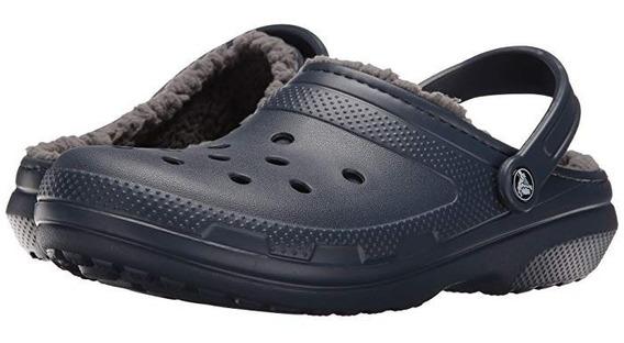 Crocs Abrigo Classic Lined Clog - Navy Charcoal